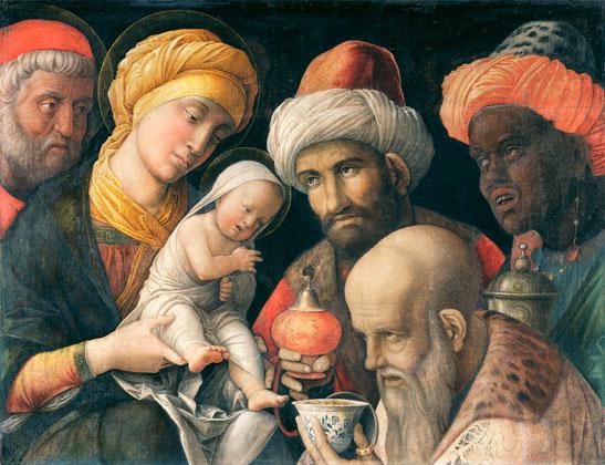 Andrea Mantegna, L' Adoration des mages