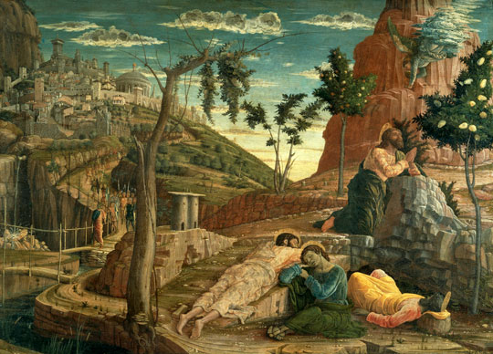 Mantegna's Agony in the Garden, Mus&eacute;e du Louvre, Paris