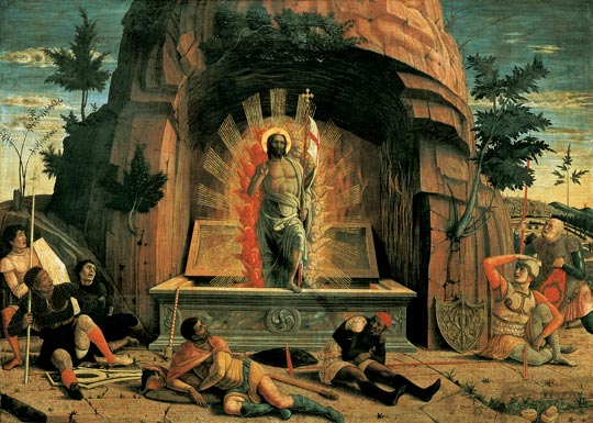 Andrea Mantegna Resurrection