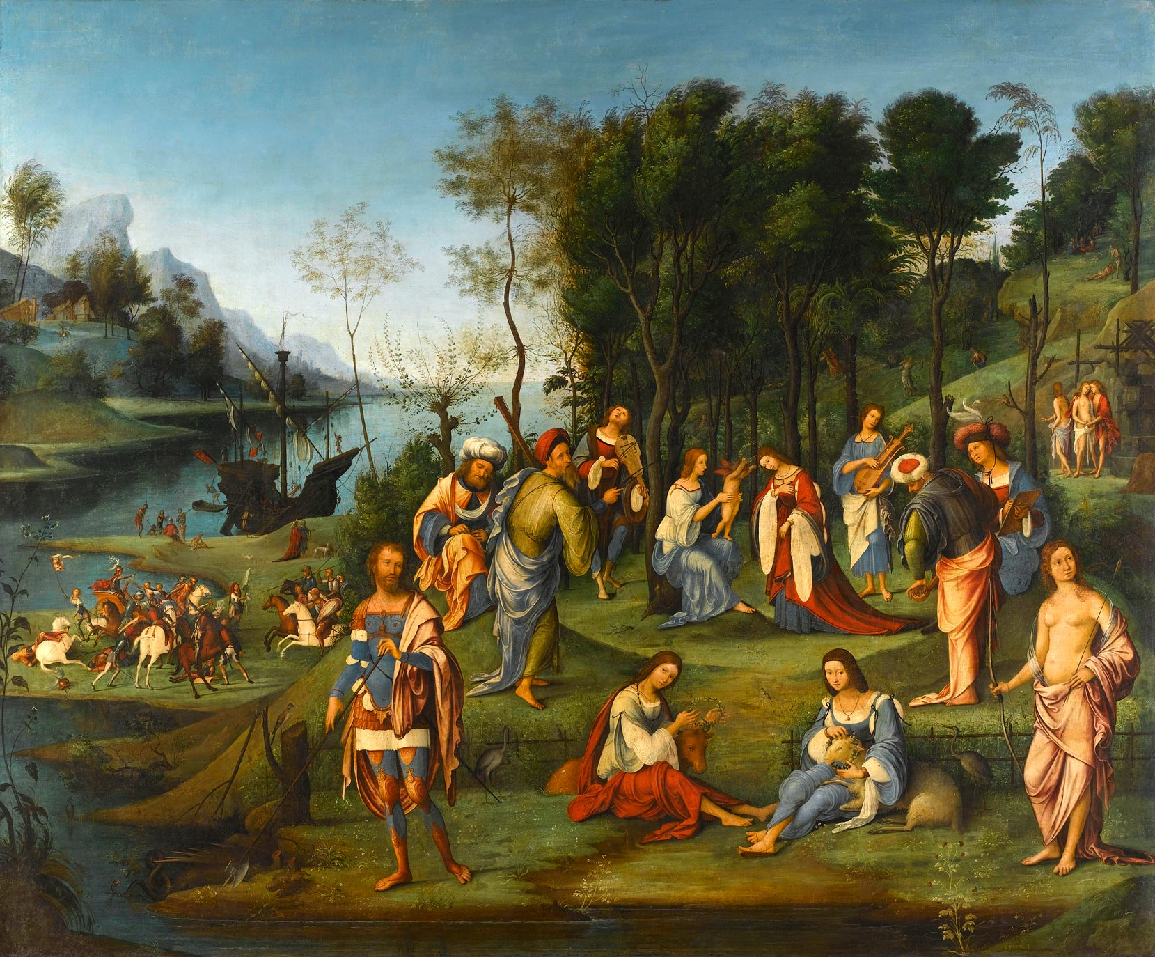 Mantegna Paintings
