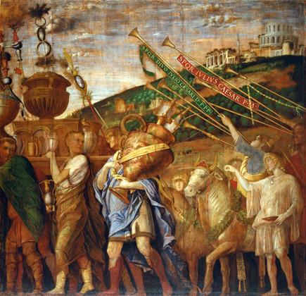 Andrea Mantegna, Les Porteurs de vases