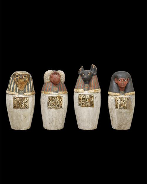 Gates Of Heaven Padiufs False Canopic Jars